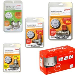 Комплекты терморегулятора
